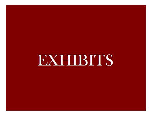 Exhibits1